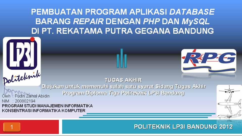d3 manajemen informatika lp3i